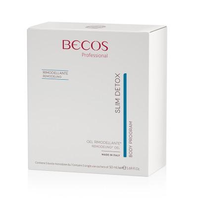 Slim Detox Gel Rimodellante Professional 5 Buste Monodose 50ml
