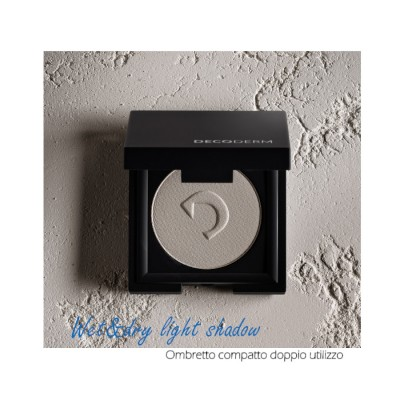 Decoderm Wet & Dry Light Shadow Col.10 Sparkle White