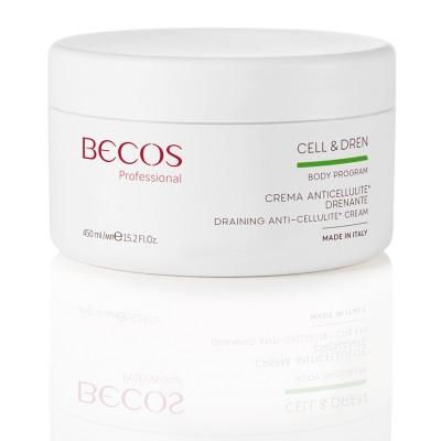 Cell & Dren Crema Anticellulite Drenante Professional Ml 450
