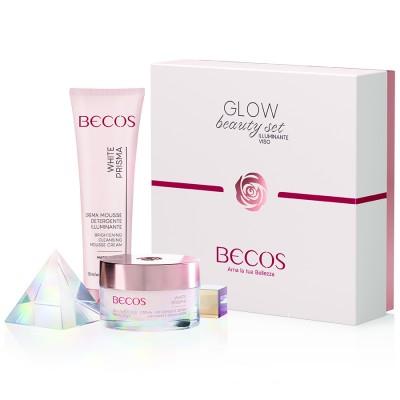 White Prisma Glow Beauty Set Illuminante Viso