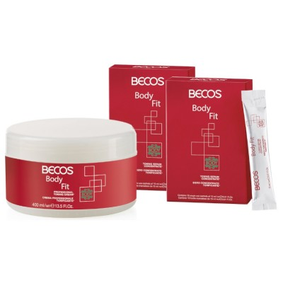 Body Fit Professional- Siero (20) & Crema 400ml Tonificante