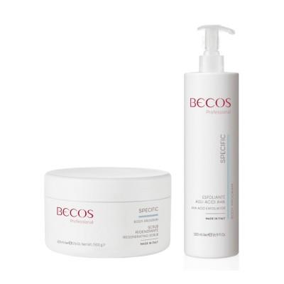 Specific Professional- Esfoliante Acidi Aha & Scrub Rigenerante Corpo