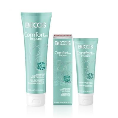Comfortime Impure- Gel Detergente & Crema-gel Purificante Matificante
