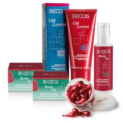 Body Fit- Capsule(28) +olio Rassoda Cellulite & Cell Control- Scrub Rigenera