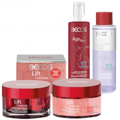 AGE STAR- Detersione (2) & LIFT COUTURE- Creme Ricca + ExtraRicc